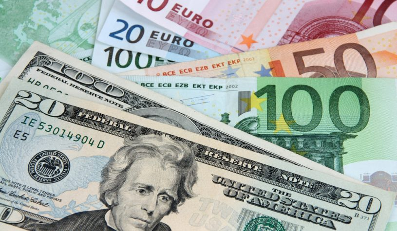 Euro in waarde gedaald door Italianen