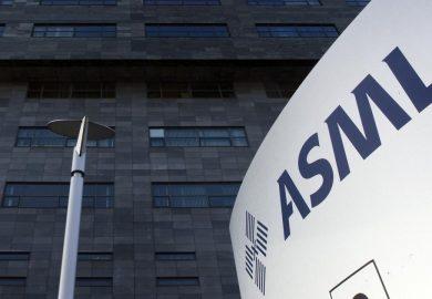 ASML heeft record omzet gerealiseerd