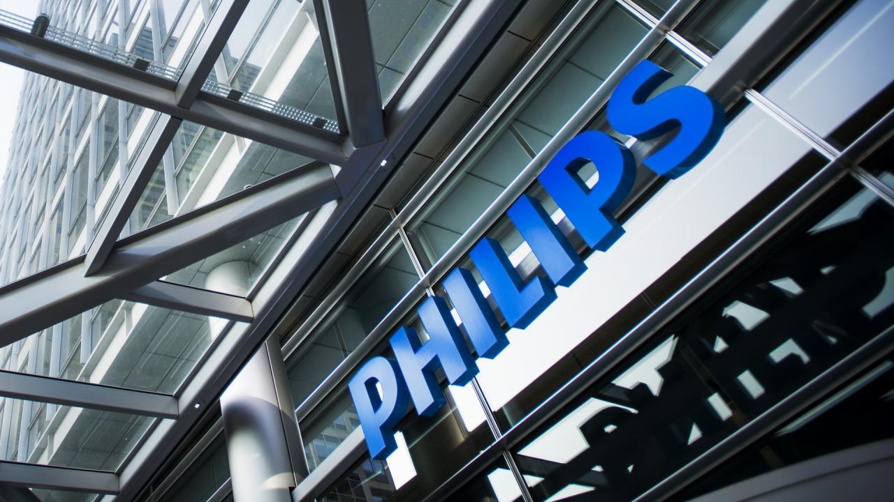 Philips boekt €1 miljard brutowinst in Q4