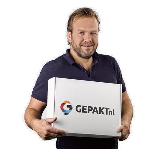 Gepakt.nl: dozen op maat bedrukken