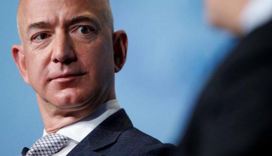 Jeff Bezos is de minste niet