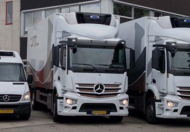 Vrachtwagens steeds milieuvriendelijker