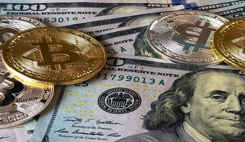 Olie en de beurzen hebben invloed op Bitcoin en daalt 10 procent in waarde