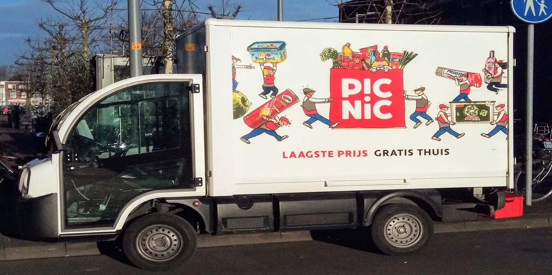 Picnic haalt 250 miljoen euro op in nieuwe investeringsronde